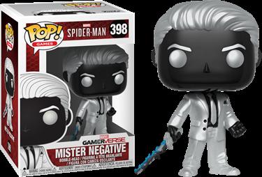 תמונה של MARVEL'S SPIDER-MAN GAMERVERSE MISTER NEGATIVE POP