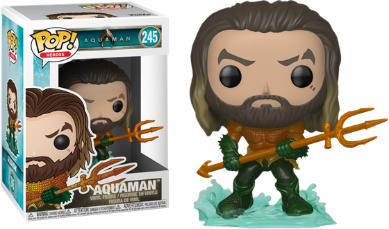 תמונה של AQUAMAN MOVIE AQUAMAN POP