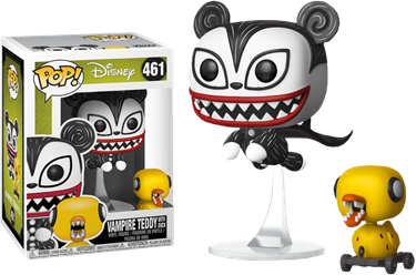 תמונה של הסיוט שלפני חג המולד - NIGHTMARE BEFORE CHRISTMAS VAMPIRE TEDDY WITH DUCK POP
