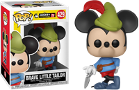 תמונה של DISNEY MICKEY 90TH ANNIVERSARY BRAVE LITTLE TAILOR POP