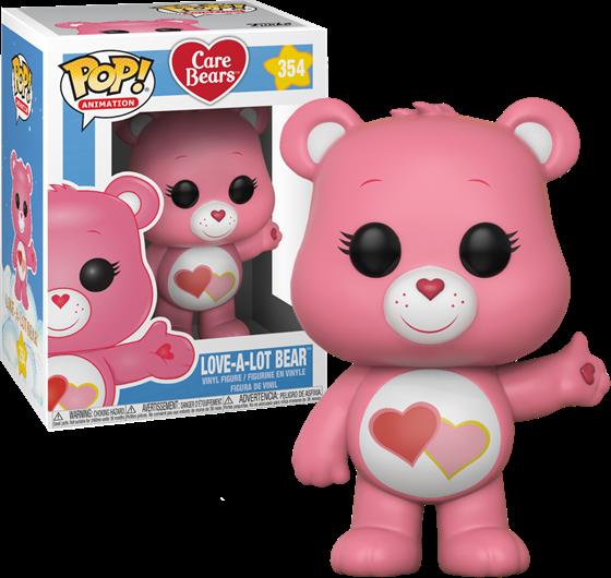 תמונה של CARE BEARS LOVE-A-LOT BEAR POP