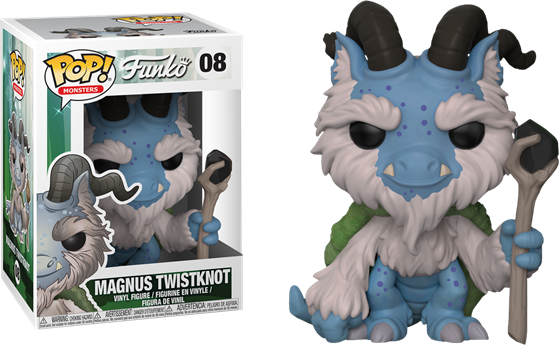תמונה של FUNKO MONSTERS MAGNUS TWISTKNOT POP