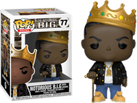 תמונה של NOTORIOUS B.I.G WITH CROWN POP
