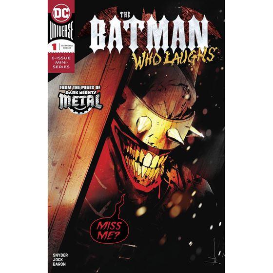 תמונה של BATMAN WHO LAUGHS #1