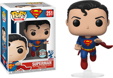 תמונה של SUPERMAN FLYING SUPERMAN 80 ANNIV POP