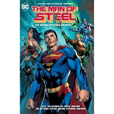 תמונה של MAN OF STEEL BY BENDIS HC