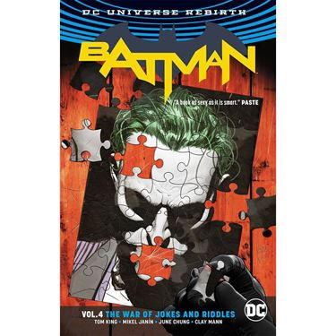תמונה של BATMAN WAR OF JOKES AND RIDDLES TP