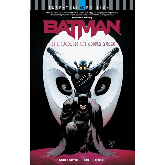 תמונה של BATMAN THE COURT OF OWLS SAGA ESSENTIAL EDITION TP