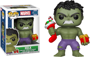 תמונה של HULK WITH CHRISTMAS STOCKING POP