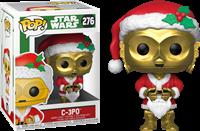 תמונה של מלחמת הכוכבים - STAR WARS C-3PO AS SANTA HOLIDAY POP