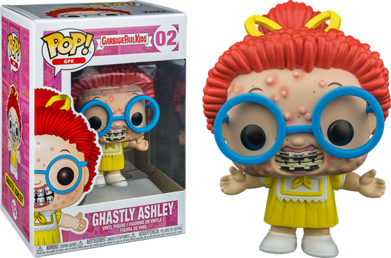 תמונה של חבורת הזבל - GARBAGE PAIL KIDS GHASTLY ASHLEY POP