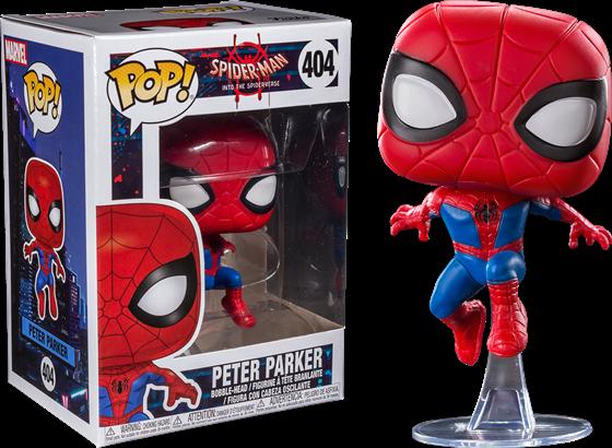 תמונה של ספיידרמן: ממד העכביש - SPIDER-MAN INTO THE SPIDER-VERSE PETER PARKER POP