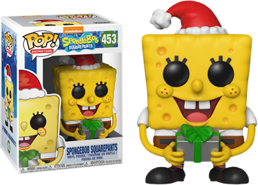 תמונה של בובספוג - SPONGEBOB SQUAREPANTS SPONGEBOB SQUAREPANTS CHRISTMAS HOLIDAY POP