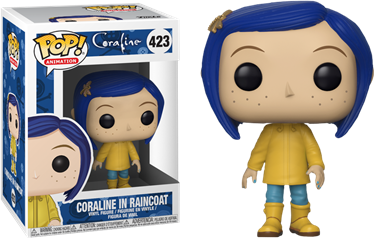 תמונה של קורליין - CORALINE CORALINE IN RAINCOAT POP