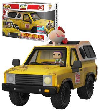 תמונה של צעצוע של סיפור - TOY STORY PIZZA PLANET TRUCK WITH BUZZ RIDE POP