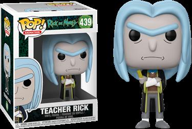תמונה של ריק ומורטי - RICK AND MORTY TEACHER RICK POP