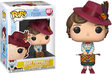 תמונה של מרי פופינס - MARY POPPINS MOVIE MARY WITH BAG POP