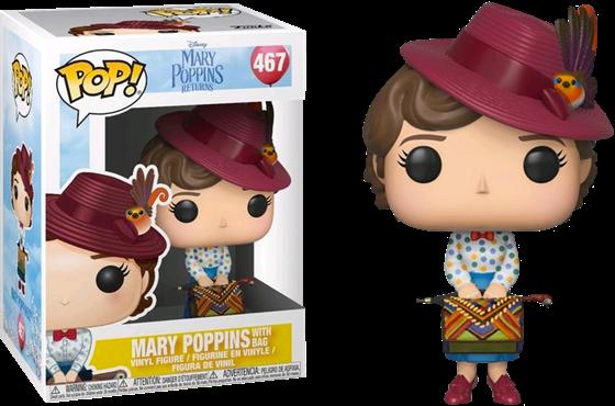 תמונה של מרי פופינס - MARY POPPINS MOVIE MARY WITH BAG POP