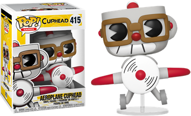 תמונה של קאפהד - CUPHEAD AEROPLANE CUPHEAD POP