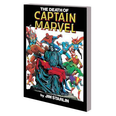 תמונה של קפטן מארוול - DEATH OF CAPTAIN MARVEL