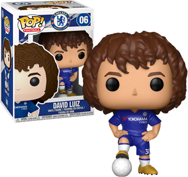 תמונה של צ'לסי - PREMIER LEAGUE FOOTBALL CHELSEA DAVID LUIZ POP