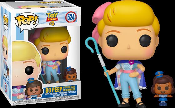 תמונה של צעצוע של סיפור - TOY STORY 4 BO PEEP WITH GIGGLE MCDIMPLES POP