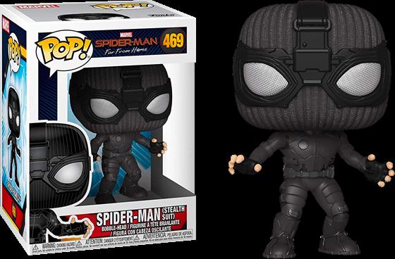 תמונה של ספיידרמן - SPIDER-MAN FAR FROM HOME SPIDER-MAN STEALTH SUIT POP