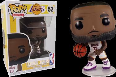 תמונה של לייקרס לברון ג'יימס - NBA LA LAKERS LEBRON JAMES POP