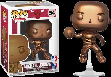 תמונה של מייקל ג'ורדן - NBA MICHAEL JORDAN BRONZED POP