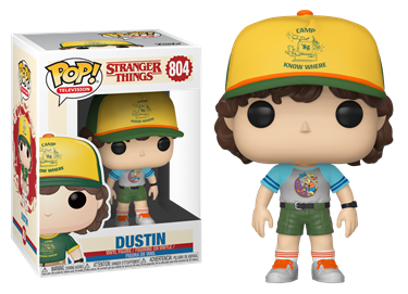 תמונה של דברים מוזרים  - STRANGER THINGS S3 DUSTIN IN ARCADE TEE EXC POP
