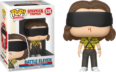 תמונה של דברים מוזרים  -  STRANGER THINGS S3 ELEVEN BATTLE MODE POP