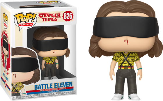 תמונה של דברים מוזרים  -  STRANGER THINGS S3 ELEVEN BATTLE MODE POP