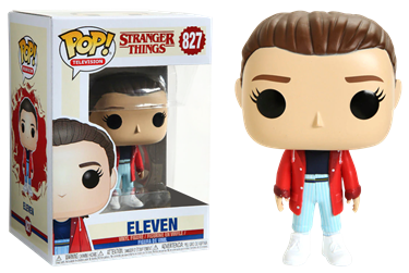 תמונה של דברים מוזרים - STRANGER THINGS S3 ELEVEN WITH SLICKER POP