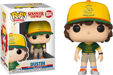 תמונה של דברים מוזרים - STRANGER THINGS S3 DUSTIN IN CAMP UNIFORM POP