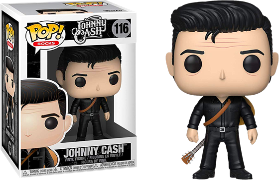 תמונה של ג'וני קאש - JOHNNY CASH MAN IN BLACK POP