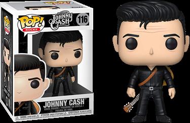 תמונה של ג'וני קאש - JOHNNY CASH WITH GUITAR POP