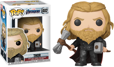 תמונה של הנוקמים תור - AVENGERS 4 ENDGAME THOR WITH HAMMER AND STORMBREAKER EXC POP
