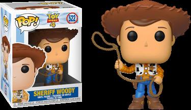 תמונה של צעצוע של סיפור - TOY STORY 4 SHERIFF WOODY POP