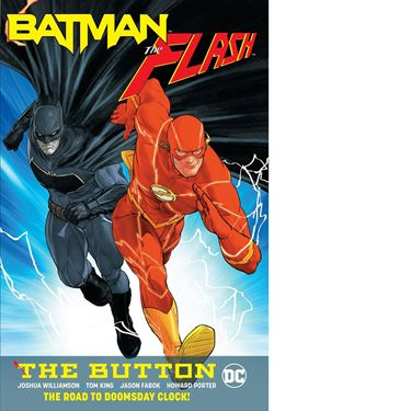 תמונה של BATMAN FLASH THE BUTTON TP