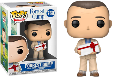 תמונה של פורסט גאמפ - FORREST GUMP FORREST GUMP WITH A BOX OF CHOCOLATES POP