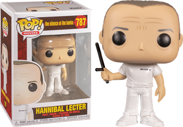 תמונה של שתיקת הכבשים - THE SILENCE OF THE LAMBS HANNIBAL LECTER POP
