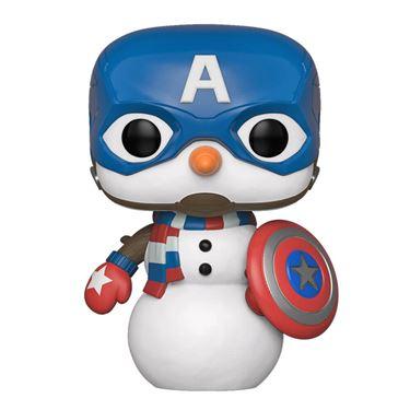 תמונה של קפטן אמריקה - CAPTAIN AMERICA SNOWMAN HOLIDAY POP