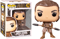 תמונה של משחקי הכס - GAME OF THRONES ARYA STARK WITH TWO HEADED SPEAR POP