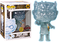 תמונה של משחקי הכס - GAME OF THRONES NIGHT KING WITH DAGGER GLOW IN THE DARK POP