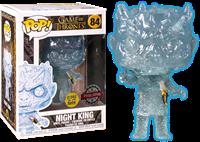 תמונה של משחקי הכס - GAME OF THRONES NIGHT KING WITH DAGGER GLOW IN THE DARK POP