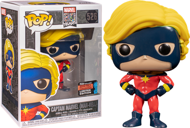 תמונה של קפטן מארוול - CAPTAIN MARVEL MAR-VELL FIRST APPEARANCE NYCC EXCLUSIVE POP