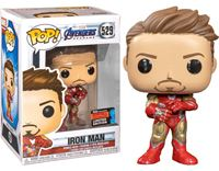 תמונה של הנוקמים איירון מן - AVENGERS 4: ENDGAME IRON MAN WITH GAUNTLET NYCC EXCLUSIVE POP
