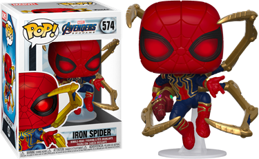 תמונה של הנוקמים סוף המשחק - AVENGERS 4: ENDGAME IRON SPIDER WITH NANO GAUNTLET POP