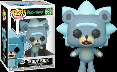 תמונה של ריק ומורטי - RICK AND MORTY TEDDY RICK POP