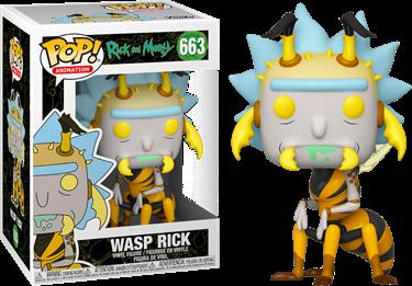 תמונה של ריק ומורטי - RICK AND MORTY WASP RICK POP